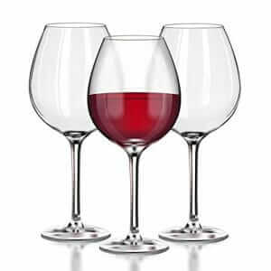 Taza Unbreakable Red Wine (Pinot Noir) Glasses