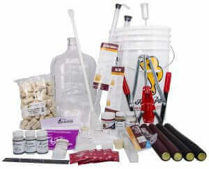 North Mountain Supply 3 Gallon Wine from Fruit Complete 32pc Kit