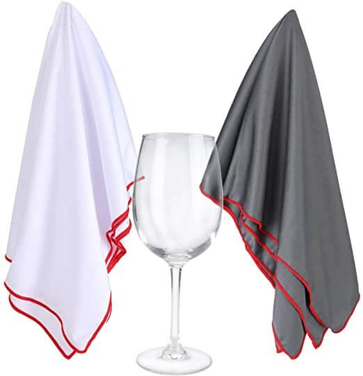 Wine Glasses Polishing Cloths